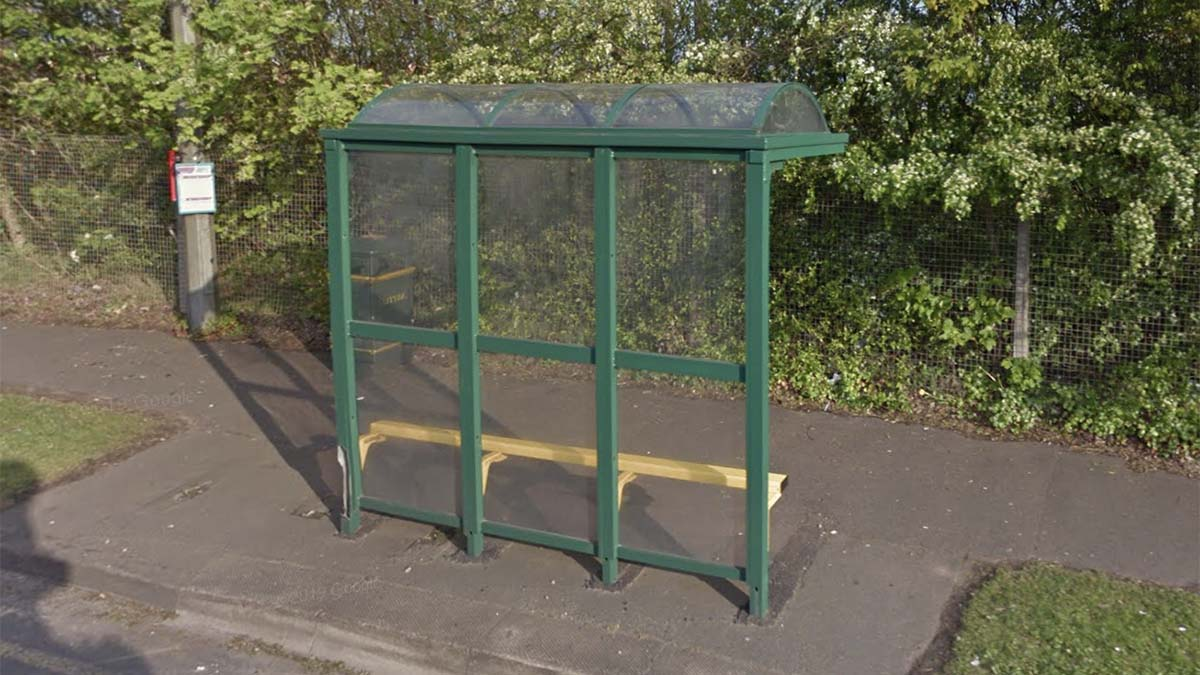 A Burntwood bus stop that has been removed twice by unknown people