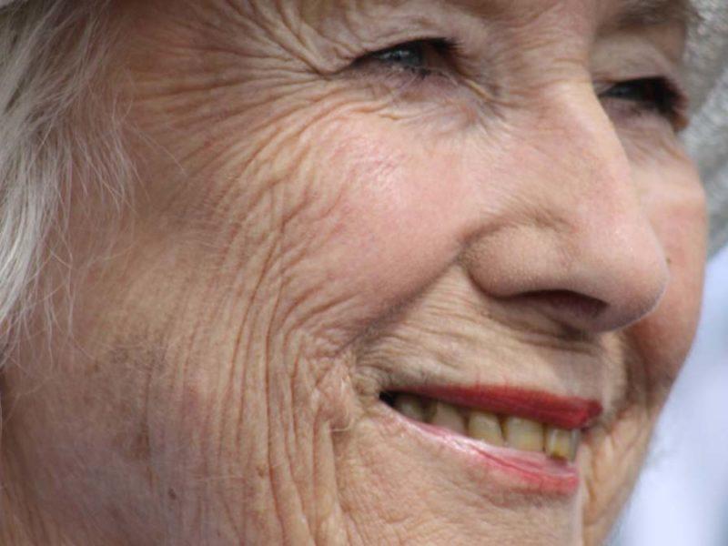 Dame Vera Lynn. Picture: Vicki Riggs
