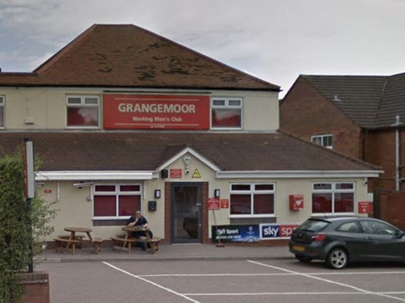 Grangemoor Working Men's Club. Picture: Google Streetview
