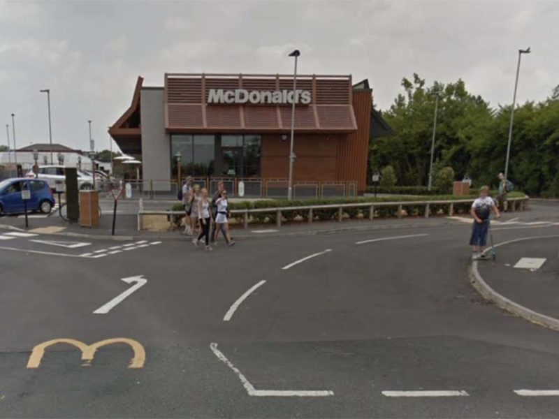 McDonald's in Burntwood. Picture: Google Streetview