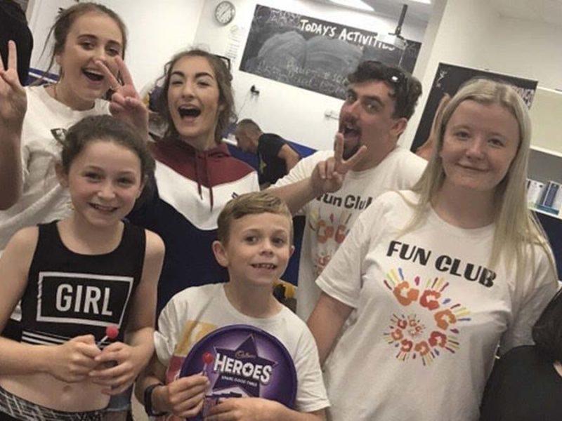 Members of The Fun Club Hub