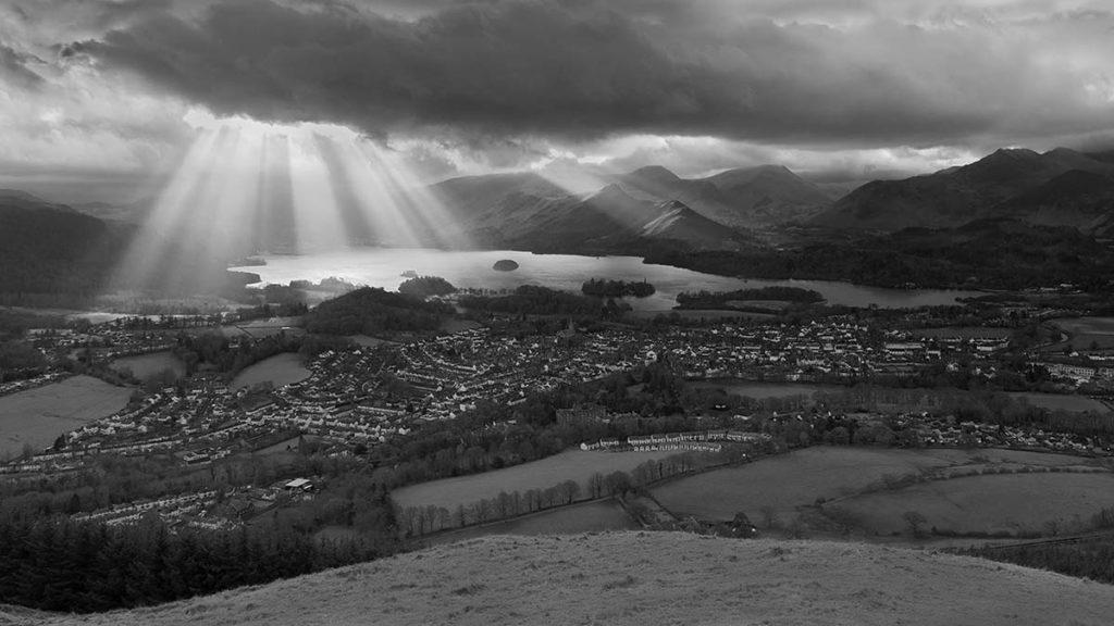 A Cumbrian Landscape - Darron Matthews