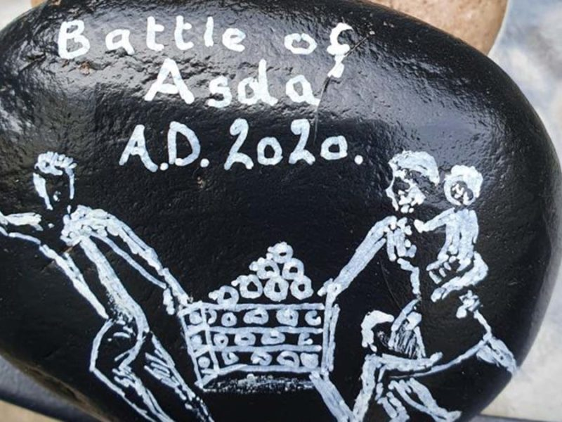 Battle of Asda - Brian Caldicott