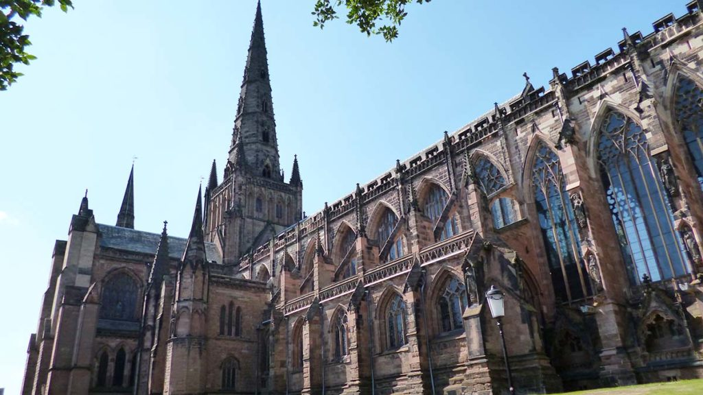 Lichfield Cathedral. Picture: Mball93