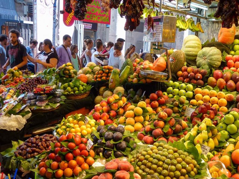 Ramblas Market - Steve Dingley