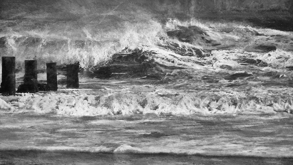 Rough sea - Annette Keetley