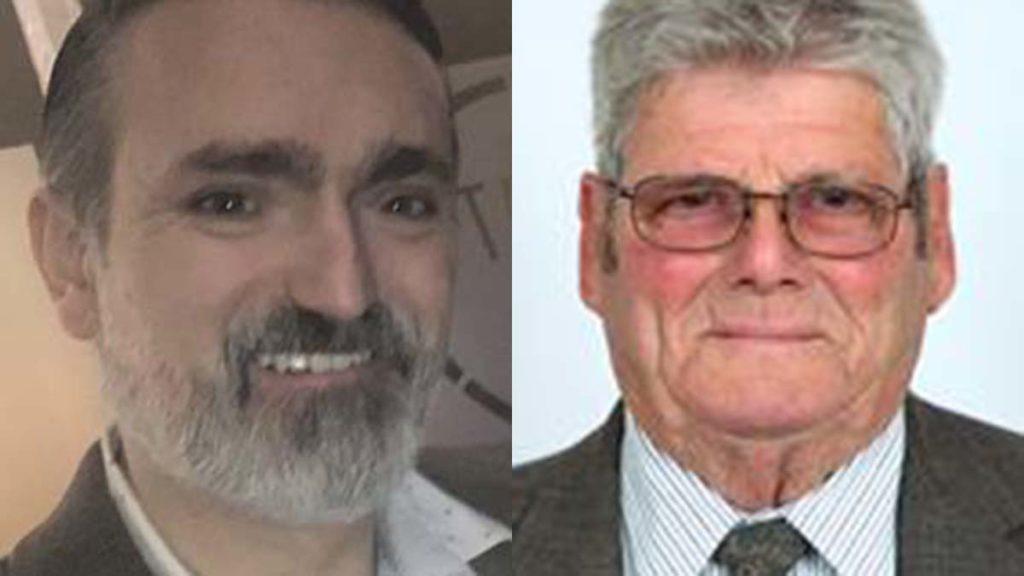 Cllr Darren Ennis and Cllr Bernard Brown