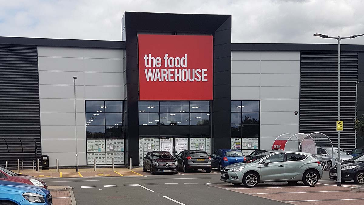 The Food Warehouse store in Lichfield