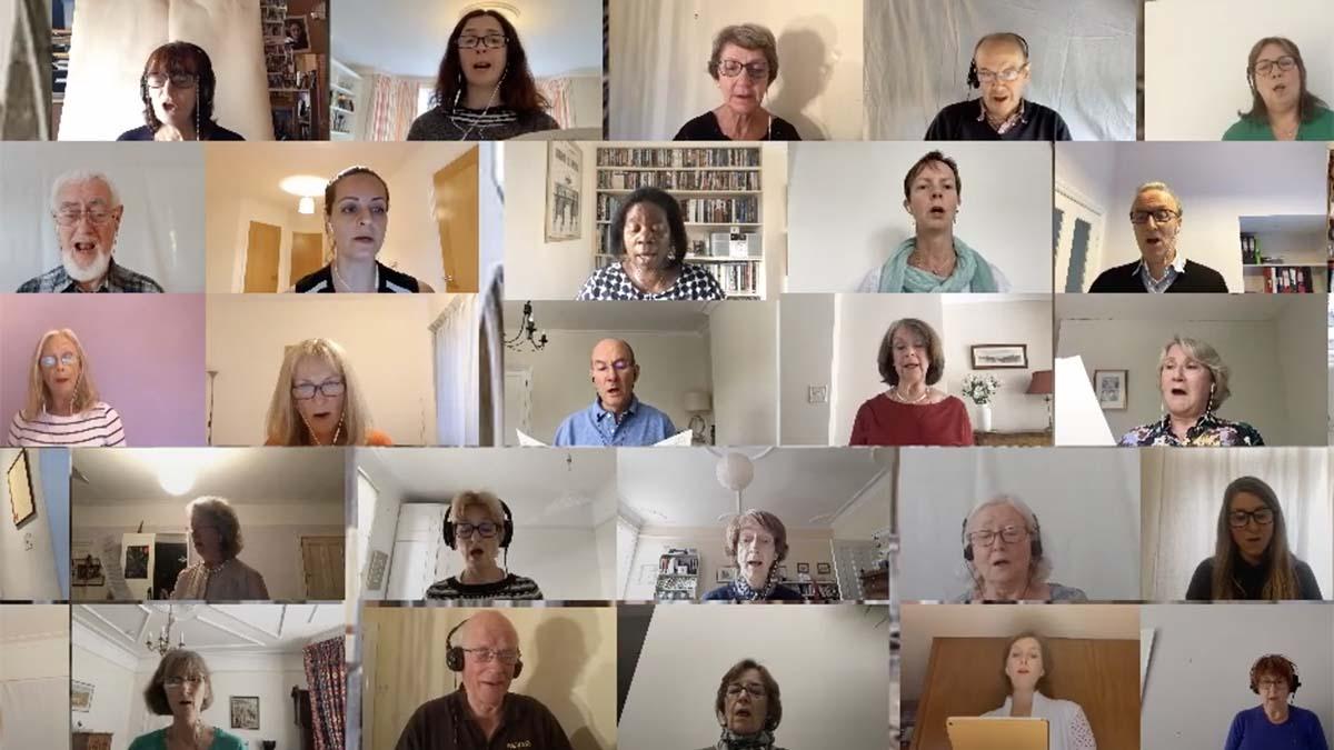 A virtual performance by the Thames Philharmonic Choir