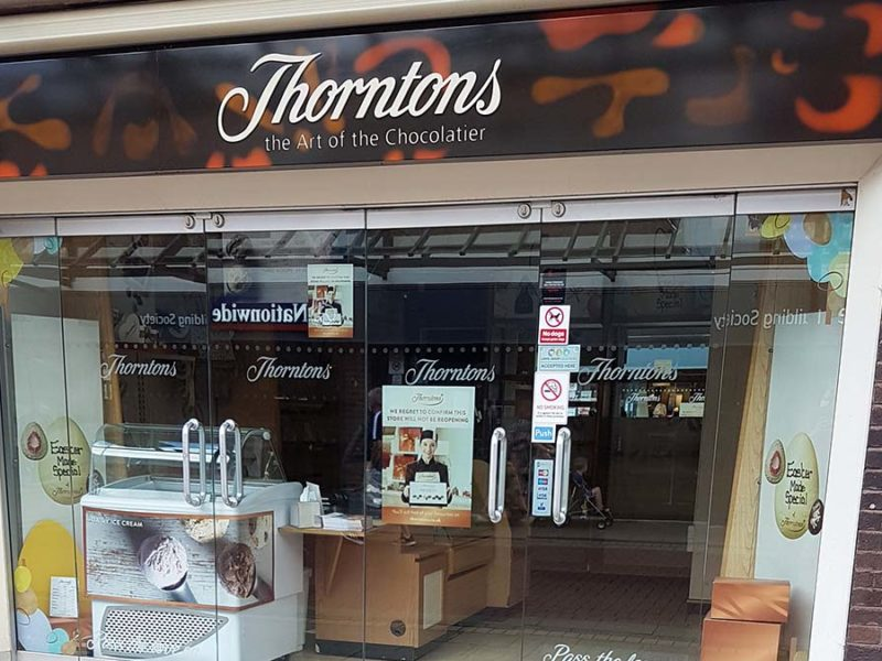 The Thorntons store in Lichfield