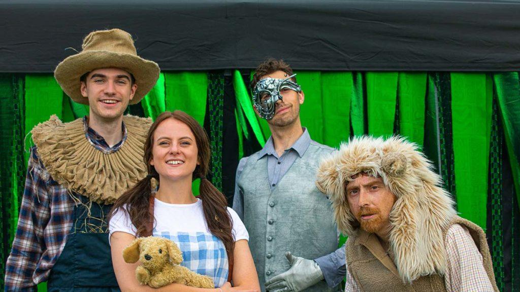 The Wonderful Wizard of Oz cast