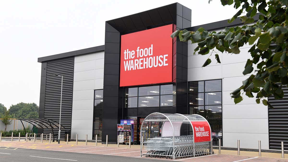The Food Warehouse in Lichfield