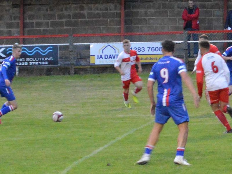 Action from Chasetown's friendly against Gresley. Picture: Chasetown FC
