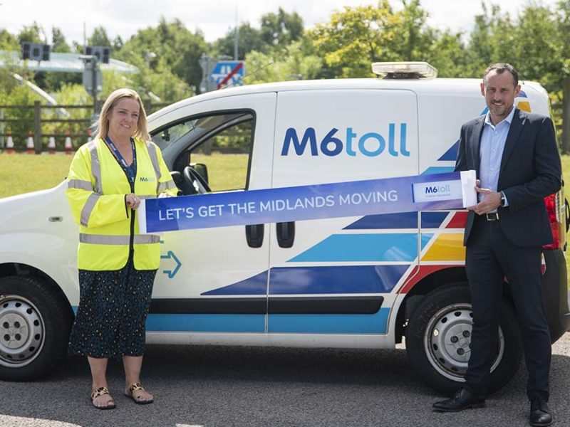 The launch of the Let's Get The Midlands Moving Campaign