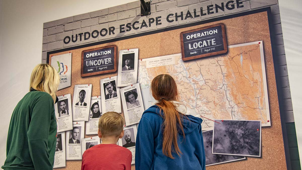 The new activity at the National Memorial Arboretum