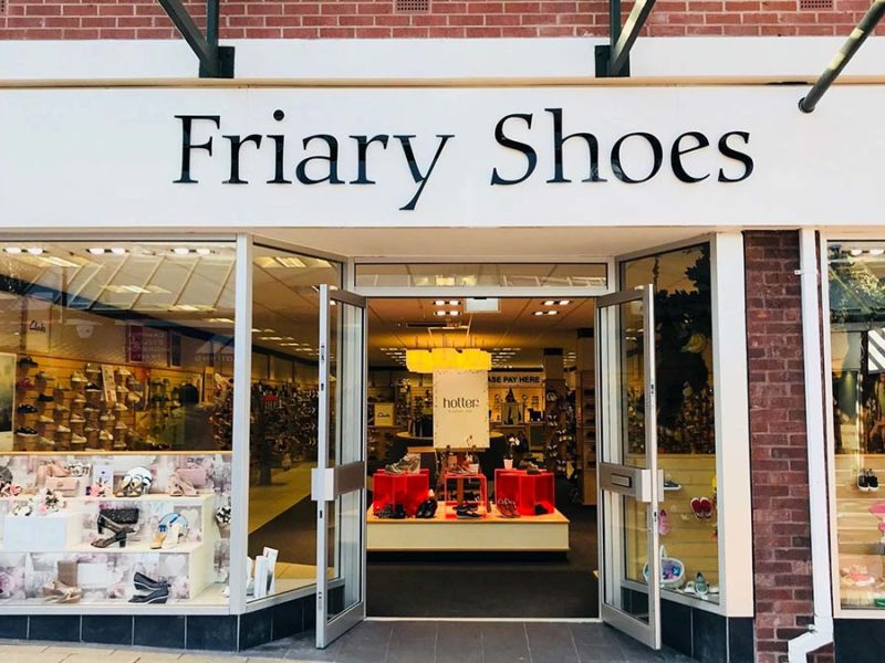The Friary Shoes store