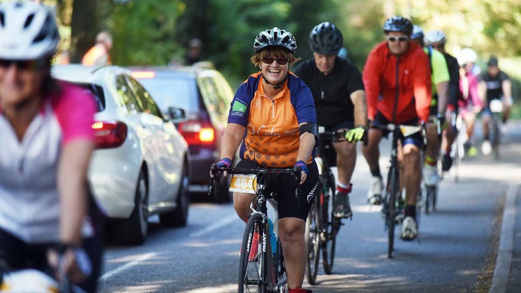 Riders on a previous Cycle St Giles event