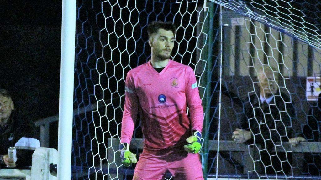 Chasetown keeper Callum Hayward. Picture: Dave Birt