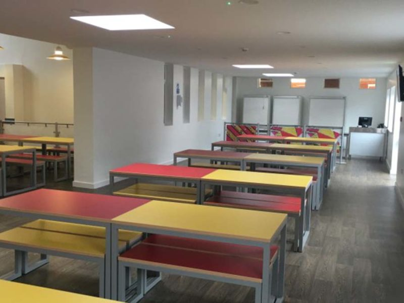The extended canteen area. Picture: The Friary School