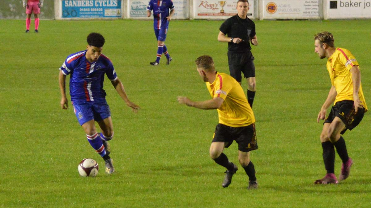 Action from Chasetown's friendly against Alvechurch. Picture: Paul Mullins
