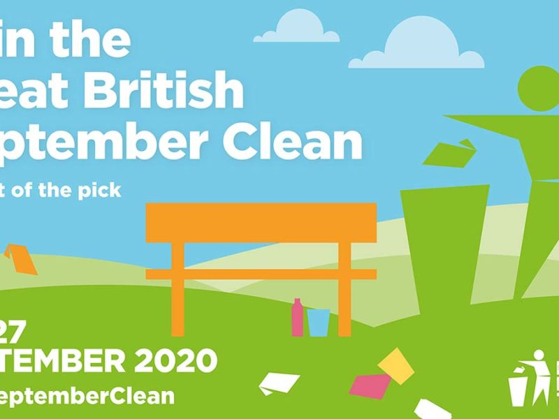 Great British September Clean sign