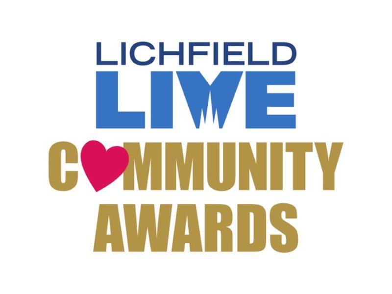 Lichfield Live Community Awards logo