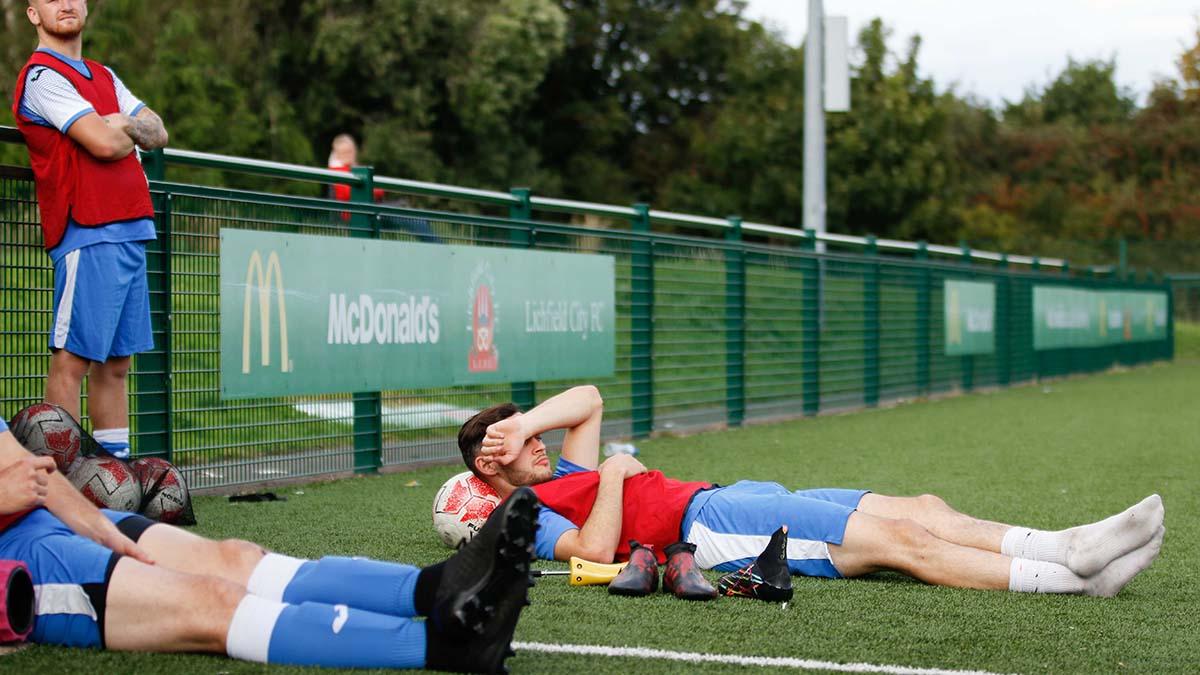 Lichfield City FC v Kirby Muxloe. Picture: Morgan Harlow