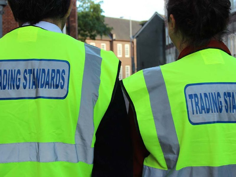 Trading Standards officers