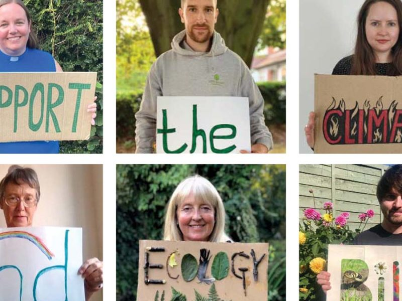 Some of those who took part in the Low Carbon Lichfield campaign