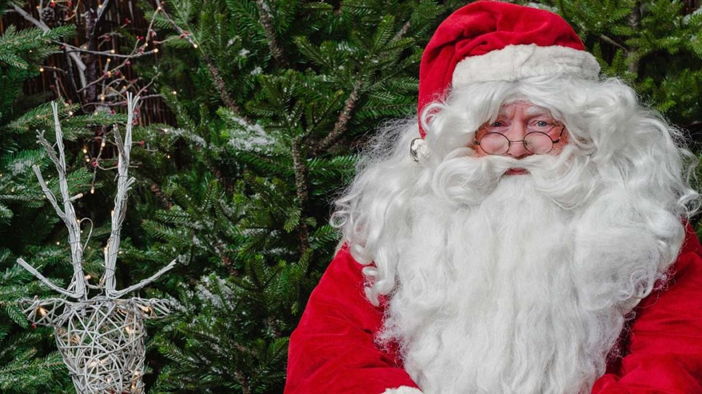 Santa at Dobbies Garden Centre
