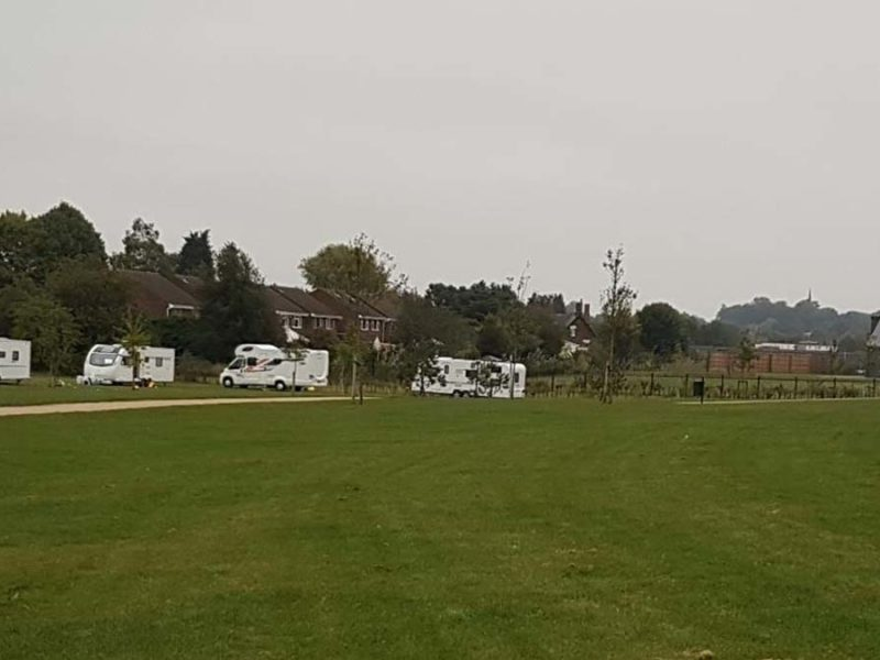Caravans on land in Streethay