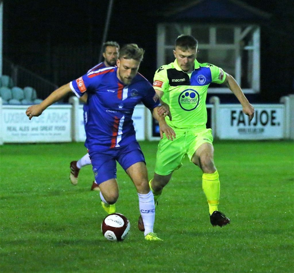 OIi Hayward on the ball. Picture: Dave Birt