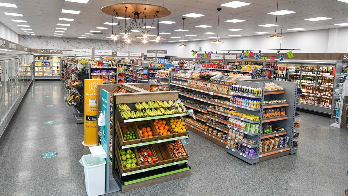 The new layout at the Central England Co-op store on Curborough Road