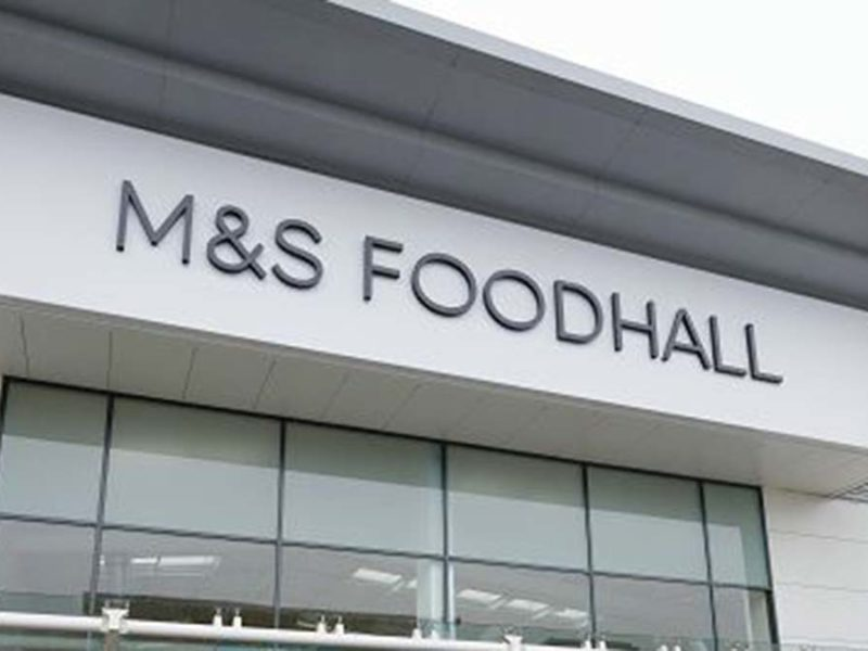 A Marks and Spencer Foodhall store