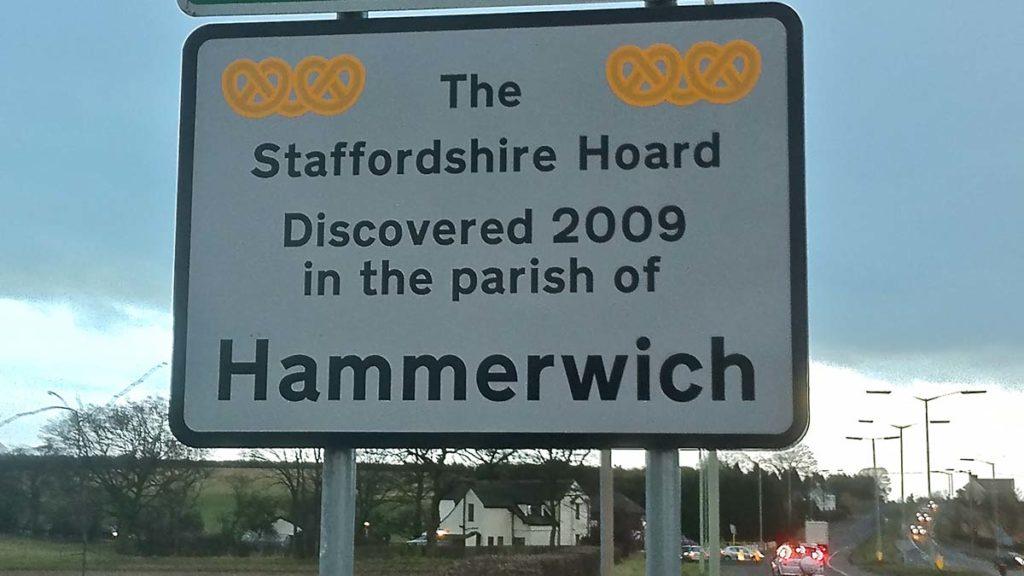 Hammerwich sign