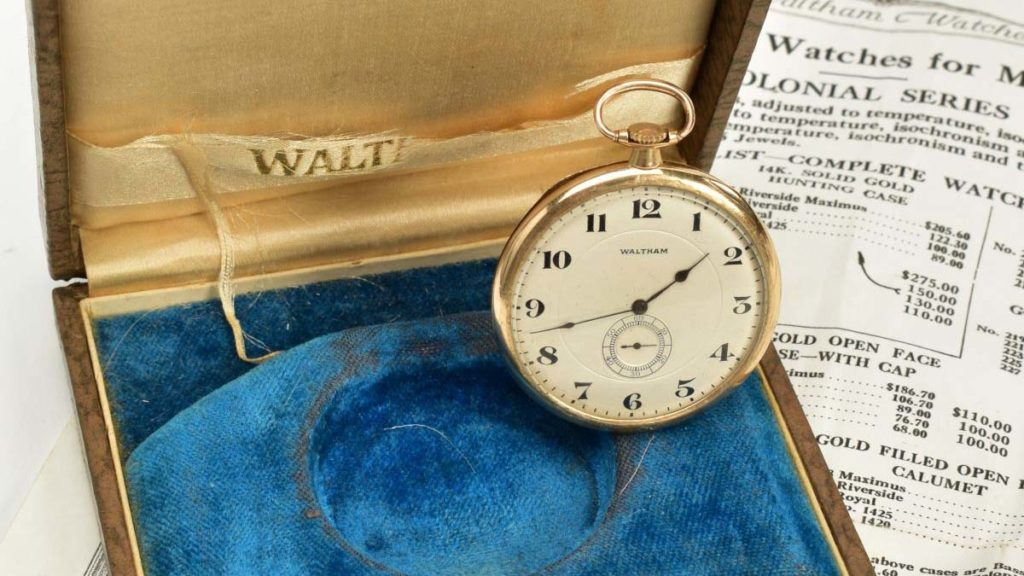 A Waltham Opera Watch going up for auction after being spotted at a Richard Winterton Auctioneers valuation event in Lichfield