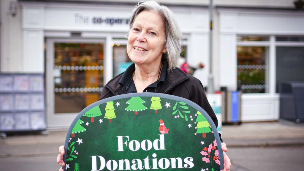 Central England Co-op Christmas Food Bank Appeal launch