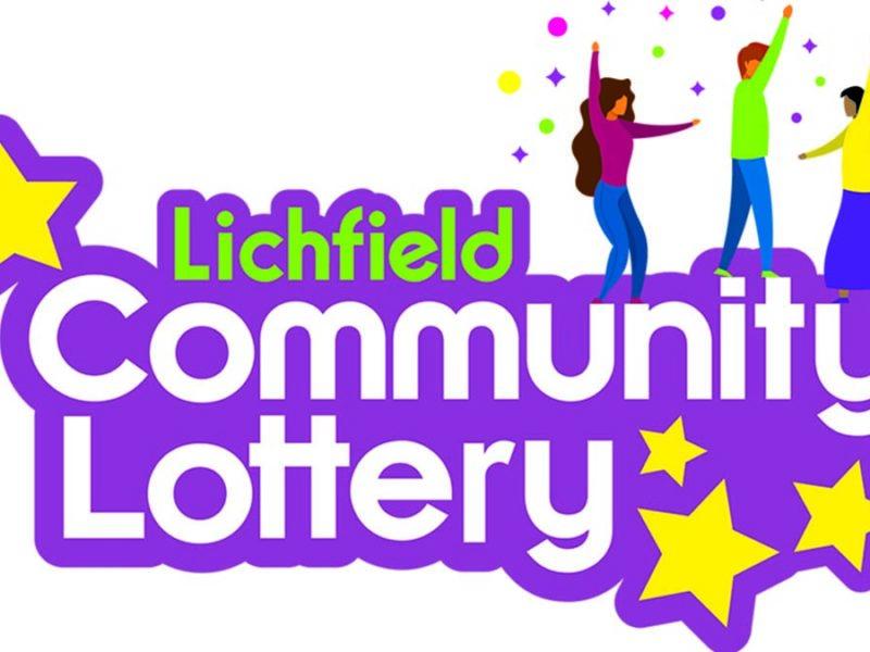 Lichfield Community Lottery logo