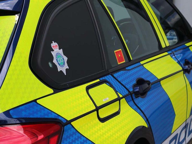 Staffordshire Police vehicle