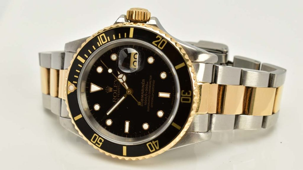 A Rolex which sold at Richard Winterton Auctioneers
