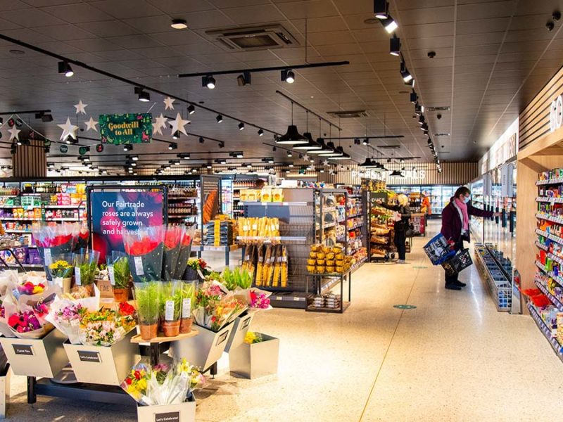 The new-look Central England Co-op store at Boley Park
