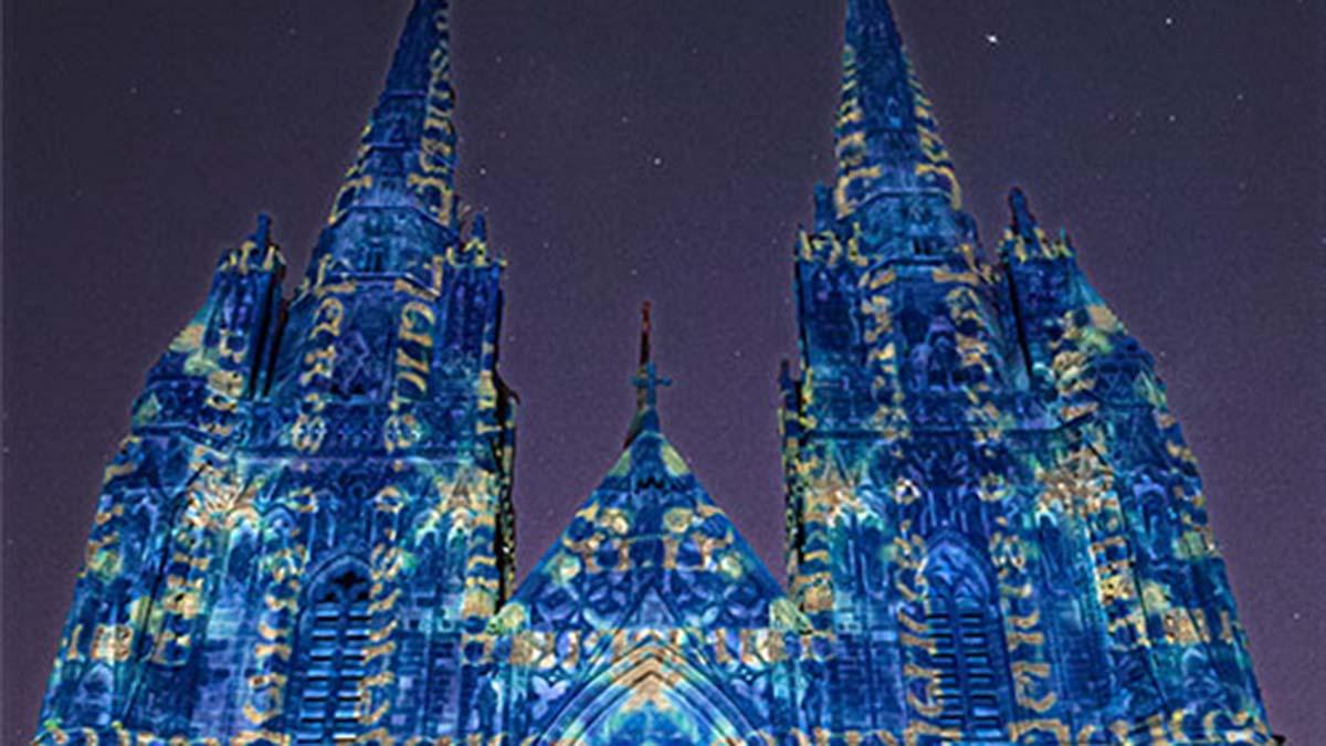 Cathedral Illuminated