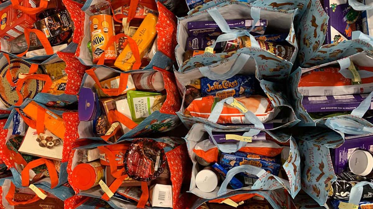 Foodbank donations