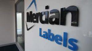 Mercian Labels sign