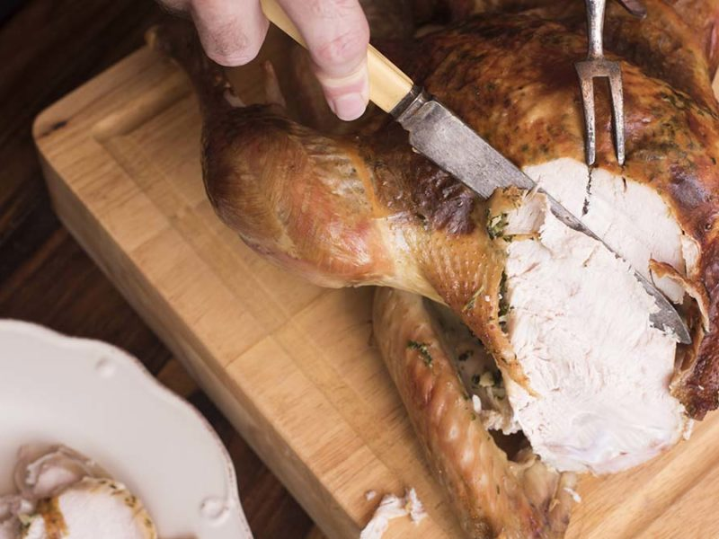 Christmas turkey. Picture: freefoodphotos