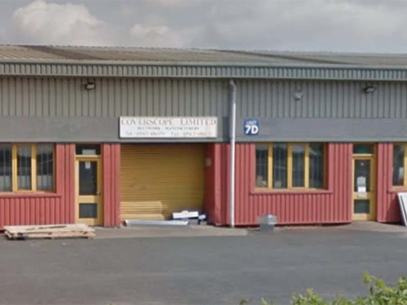 The units that could become the home to a gymnastics club. Picture: Google Streetview