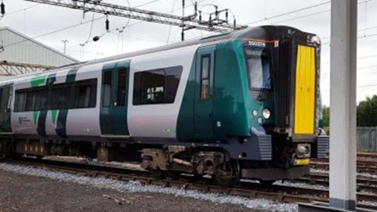 A London Northwestern Railway train