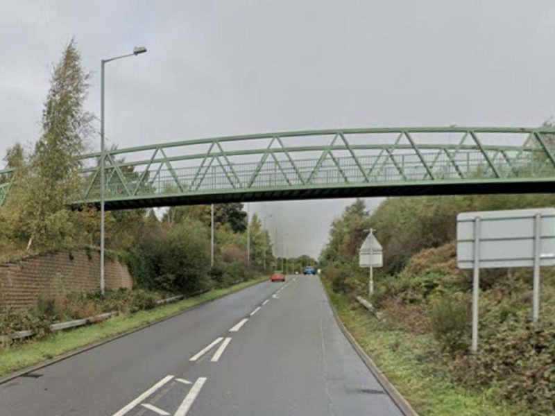 The A5195 Burntwood Bypass