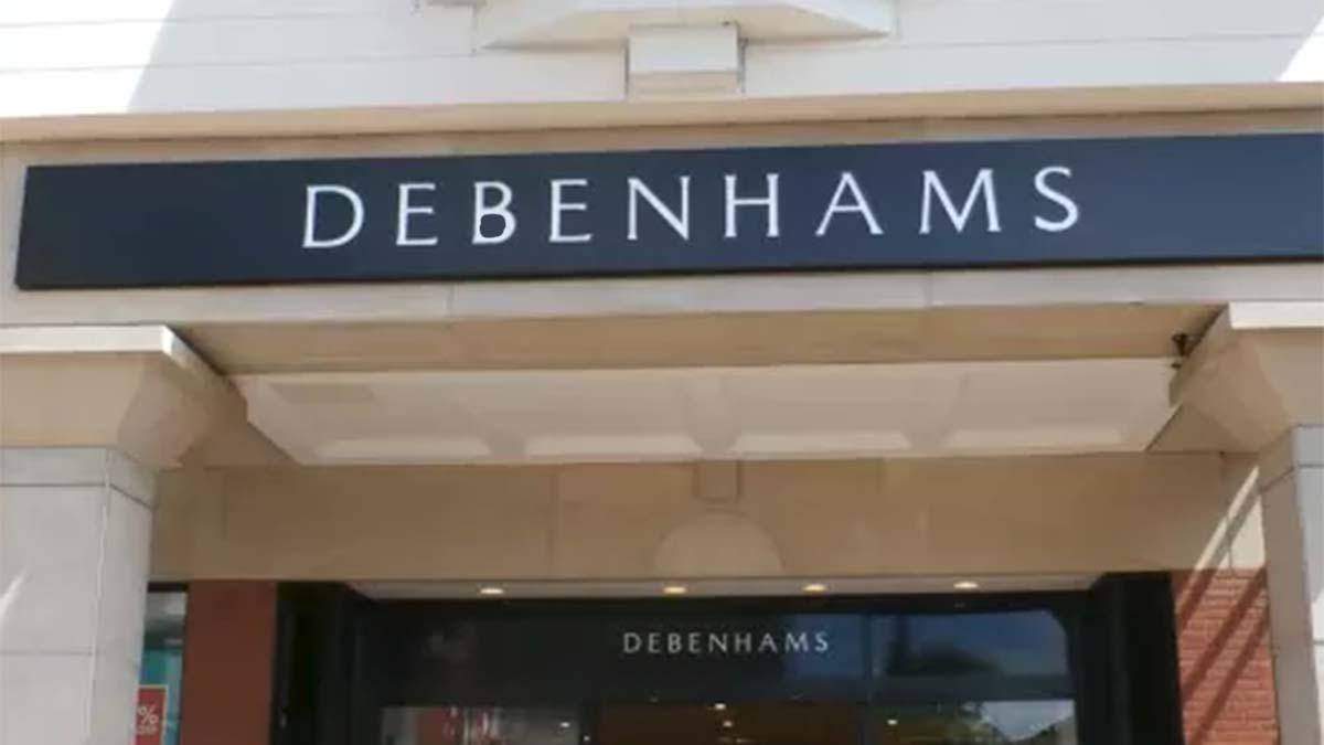 The Debenhams store in Lichfield