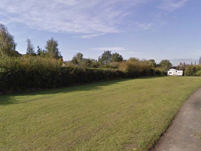 The proposed site for 14 new homes. Picture: Lichfield District Council planning portal